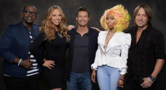 Mariah Carey and Nicki Minaj play nice at American Idol press conference ... or do they?