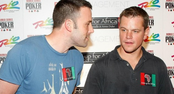 Matt Damon addresses Ben Affleck gay rumours