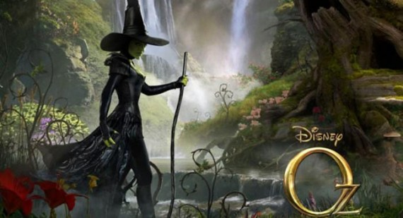 Mila Kunis as Theodora rounds off the the witches character posters for Oz the Great and Powerful