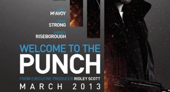 New Welcome to the Punch clip featuring James McAvoy, Andrea Riseborough and David Morrissey