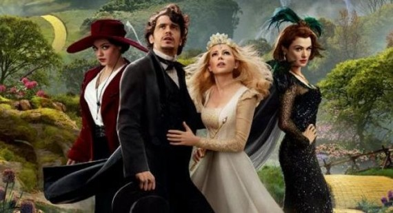 New pictures of James Franco and co. in Oz: The Great and Powerful
