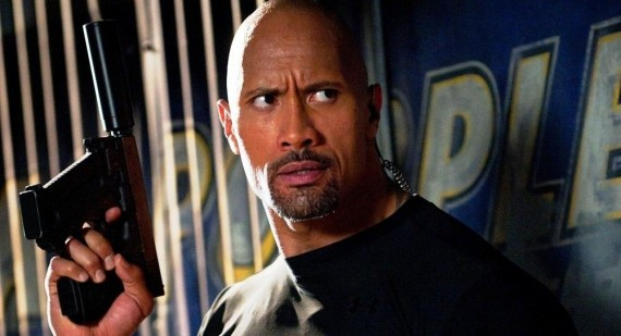 How did Dwayne Johnson get his nickname?