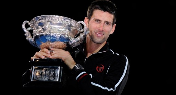 What did Novak Djokovic say at the Australian Open?