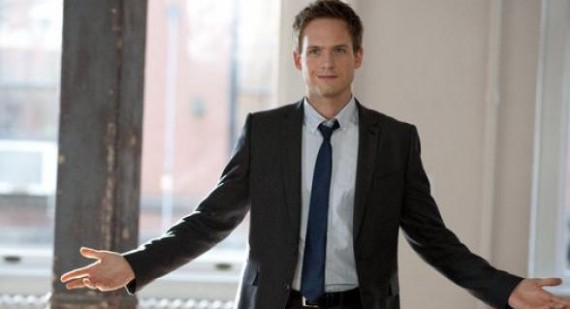 Patrick J. Adams talks possible Suits, Burn Notice, White Collar crossover