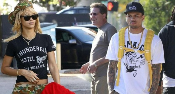 Riahanna Happy After Chris Brown Has Karrueche Tran Tattoo Removed
