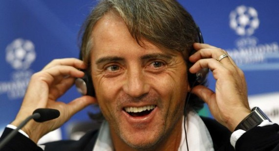 "Roberto Mancini: ""I will support Man Utd against Real Madrid"""