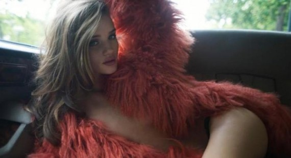 Rosie Huntington-Whiteley has always been more obsessed with fashion than boys