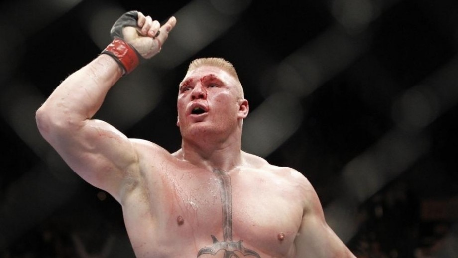 Brock Lesnar's Slam win inspires thought of potential movie villain