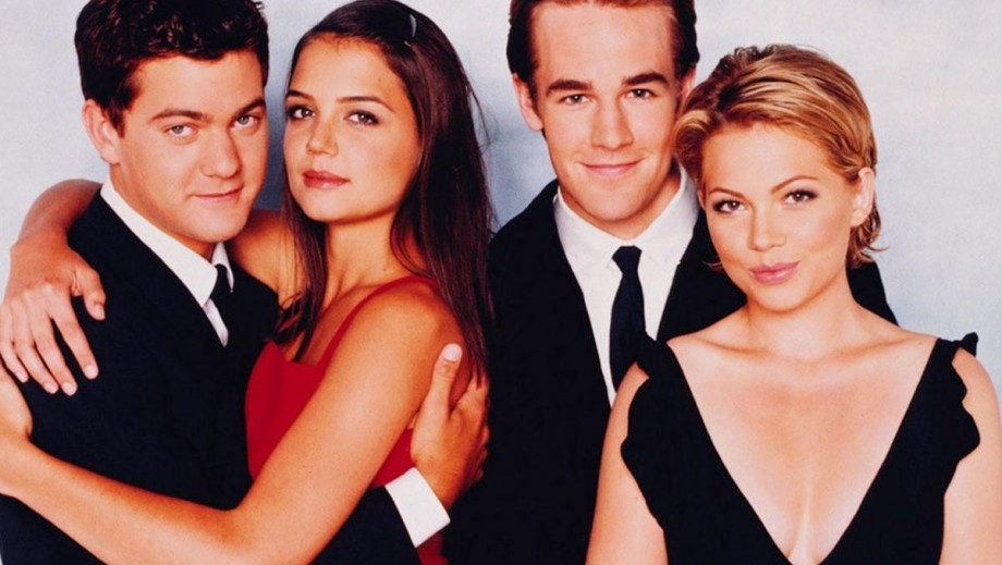 Dawson's Creek reunion: Michelle Williams, Katie Holmes, Joshua Jackson in; James Van Der Beek out