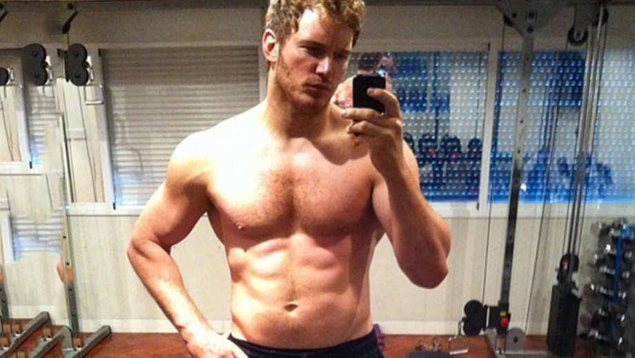 Hollywood hunk Chris Pratt's body for Guardians of the Galaxy is beginning to fade‏