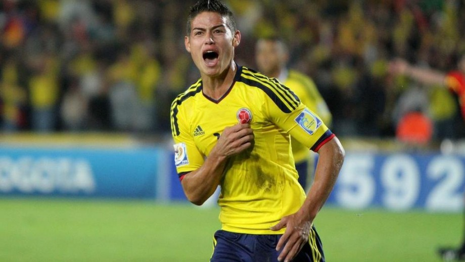 James Rodriguez set for £40m move to Real Madrid‏