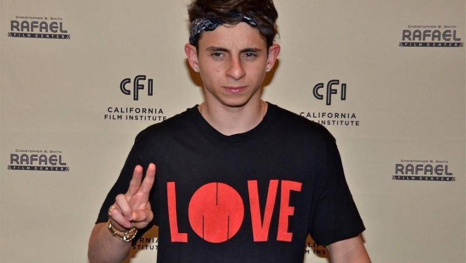 Moises Arias and Willow Smith are like brother and sister