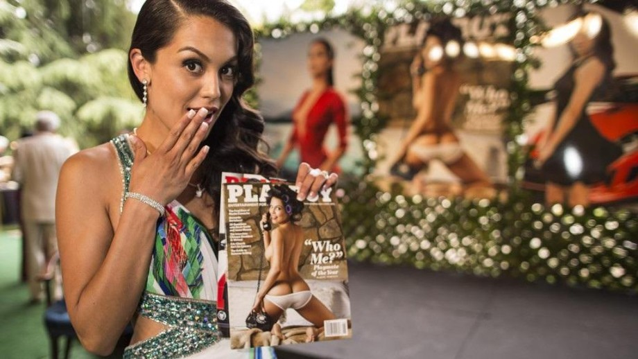 Raquel Pomplun discusses her Playboy experiences
