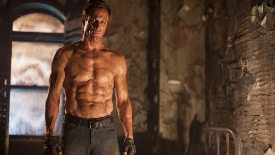 "Will Aaron Eckhart keep the 'muscular' body for role in Incarnate""?"