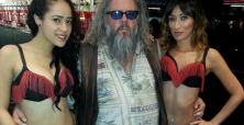 Mark Boone Junior takes break from filming Sons of Anarchy season 7 for some casino action in Las Vegas