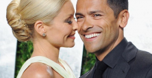 Mark Consuelos enjoys 'Greek' vacation with wife and friends
