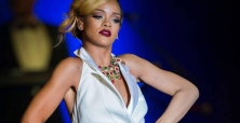 Rihanna stuns in 'belly-dance' outfit at Rogue Man fragrance launch
