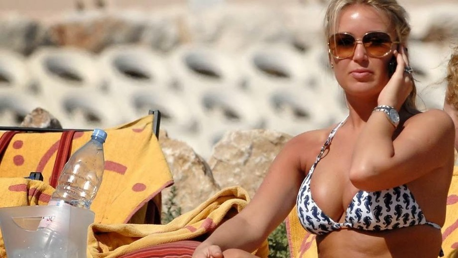 Alex Curran-Gerrard reveals bikini insecurity