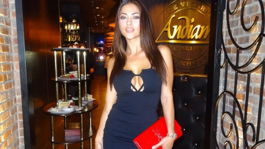 Arianny Celeste enjoys dinner date at same venue as Dana White in Las Vegas on UFC Weekend