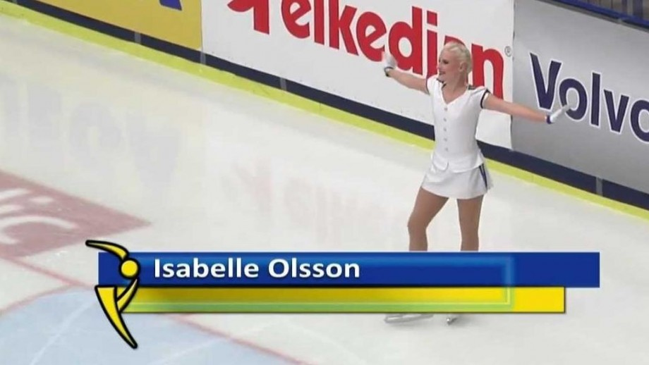 Can Isabelle Olsson become the next Swedish skating star?