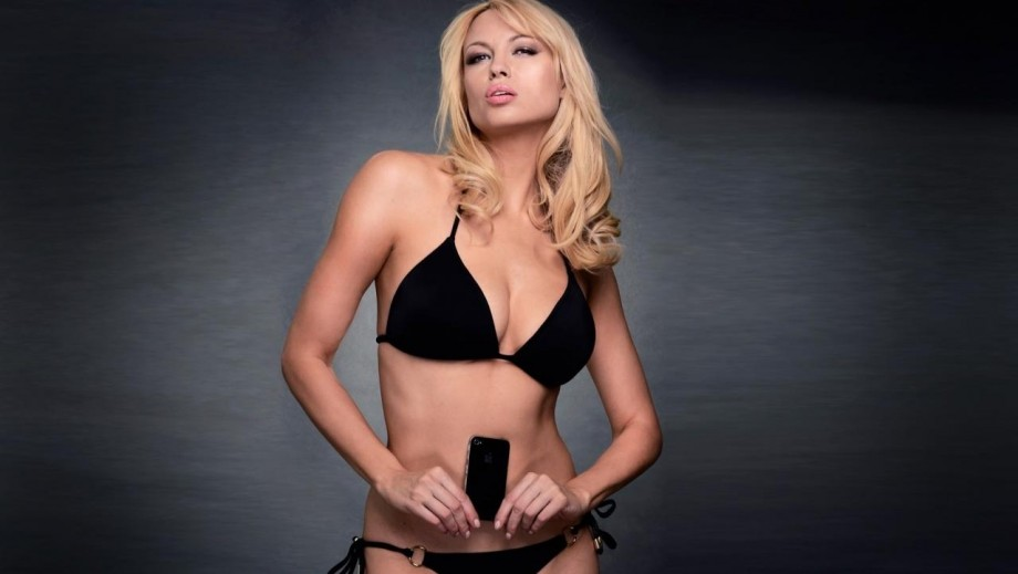 Irina Voronina, a comedic actress with the body of a 'Bond' girl
