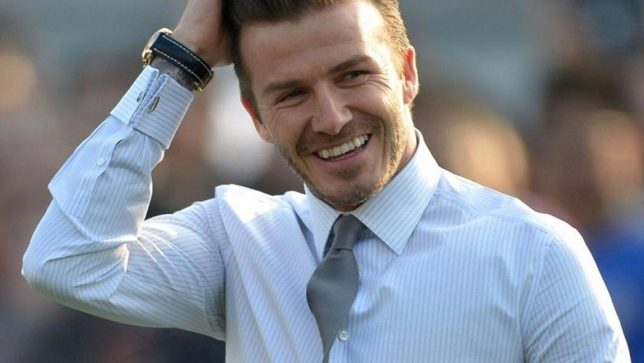 Is David Beckham making the move to becoming a Hollywood actor?