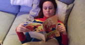 Brie Larson is loving the Captain Marvel comic book arc