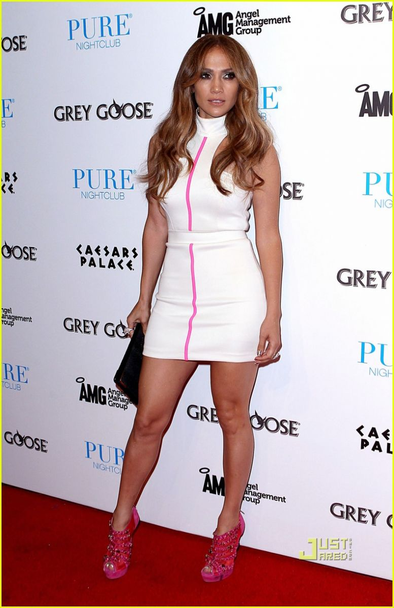 <strong>Jennifer Lopez</strong> at PURE in Las Vegas