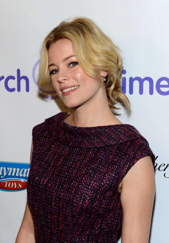 Elizabeth Banks Purple Dress March Dimes Celebration Babies Beverly Hills December Gq