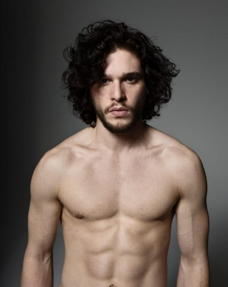 Kit Harington Sin Camiseta