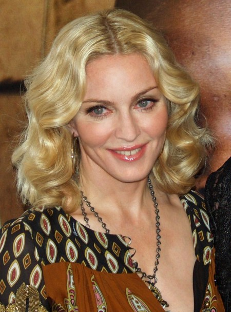 Madonna At The Premiere Of Am Because We Are